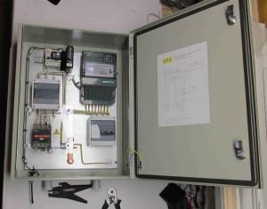 Шкаф учета с ограничителем мощности и GSM модемом